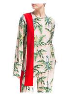 STELLA McCARTNEY Blusenshirt aus Seide, Farbe: NUDE/ ROT/ GRÜN (Bild 1)