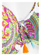 Freya Bügel-Bikini-Top NEW WAVE, Farbe: WEISS/ PINK/ GRÜN  (Bild 1)