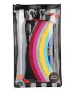 IPHORIA Smartphone-Hülle RAINBOW, Farbe: SCHWARZ/ ROT/ BLAU (Bild 1)