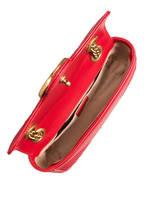 GUCCI Umhängetasche GG MARMONT MINI, Farbe: ROT (Bild 1)