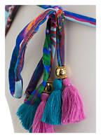 PILYQ Bikini-Hose , Farbe: HELLBLAU/ BLAU/ ROT (Bild 1)