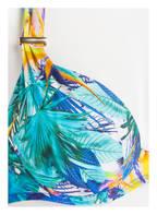 Aubade Push-up-Bikini-Top FLEUR TROPICALE , Farbe: BLAU/ TÜRKIS/ GELB  (Bild 1)