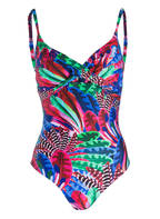 CYELL Badeanzug MACAW, Farbe: BLAU/ PINK/ GRÜN (Bild 1)