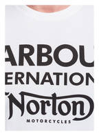 BARBOUR INTERNATIONAL T-Shirt NORTON, Farbe: WEISS (Bild 1)