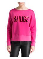 Mrs & HUGS Sweatshirt , Farbe: PINK (Bild 1)