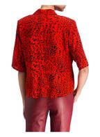 GESTUZ Bluse LOUI, Farbe: ORANGEROT/ SCHWARZ (Bild 1)