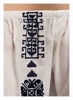 PAMPELONE Off-Shoulder-Strandkleid mit Stickereien, Farbe: WEISS (Bild 1)