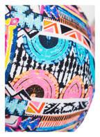 Hot Stuff Neckholder-Bikini-Top, Farbe: SCHWARZ/ TÜRKIS/ ROSA (Bild 1)