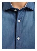 FIL NOIR Bluse CARLA , Farbe: BLAU (Bild 1)