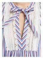 IVI collection Kleid, Farbe: WEISS/ HELLBLAU/ ROT (Bild 1)