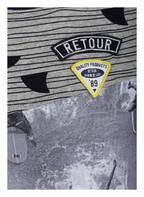 RETOUR DENIM DELUXE T-Shirt , Farbe: GRAU/ BLAU/ SCHWARZ  (Bild 1)