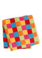 Cawö Handtuch LIFESTYLE KARO , Farbe: ROT/ BLAU/ GRÜN (Bild 1)
