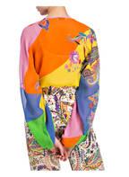 ETRO Seidenbluse, Farbe: ORANGE/ ROSA/ GELB (Bild 1)