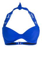 Freya Neckholder-Bikini-Top MACRAME , Farbe: ROYAL (Bild 1)