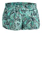 LORNA JANE Shorts DREAM RUN, Farbe: MINT/ GRÜN/ WEISS (Bild 1)