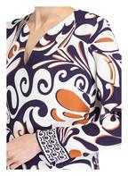 IVI collection Kleid, Farbe: WEISS/ NAVY/ HELLBRAUN (Bild 1)