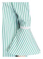 Mrs & HUGS Off-Shoulder-Kleid, Farbe: WEISS/ GRÜN (Bild 1)