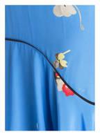 GANNI Seidenkleid JOYCEDALE , Farbe: BLAU (Bild 1)