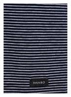 HANRO V-Shirt SPORTY STRIPE, Farbe: MARINE/ GRAU GESTREIFT (Bild 1)