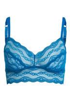 b.tempt'd Bralette LACE KISS , Farbe: MYKONOS BLUE (Bild 1)