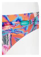 CYELL Bikini-Hose BLOOMTOWN, Farbe: PINK/ PETROL/ ORANGE (Bild 1)
