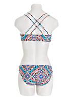 Hot Stuff Bikini-Hose, Farbe: WEISS/ BLAU/ SCHWARZ (Bild 1)