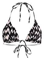 Hot Stuff Triangel-Bikini-Top, Farbe: SCHWARZ/ WEISS (Bild 1)