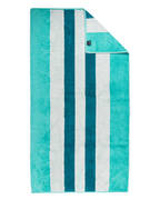 JOOP! Duschtuch CLASSIC STRIPES , Farbe: TÜRKIS / PETROL GESTREIFT  (Bild 1)
