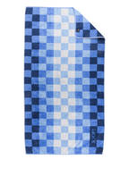 JOOP! Duschtuch VIVID, Farbe: HELLBLAU/ DUNKELBLAU KARIERT  (Bild 1)