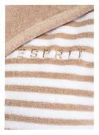 ESPRIT Damen-Bademantel STRIPE , Farbe: WEISS/ BEIGE GESTREIFT  (Bild 1)