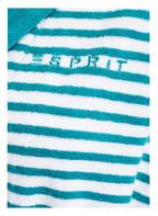 ESPRIT Damen-Bademantel STRIPE , Farbe: WEISS/ TÜRKIS GESTREIFT  (Bild 1)