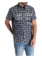 CAMP DAVID Halbarm-Hemd Regular Fit, Farbe: DUNKELBLAU (Bild 1)