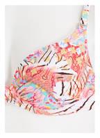 watercult Bügel-Bikini-Top CREATIVE MANIFESTO, Farbe: PINK/ WEISS/ GELB  (Bild 1)
