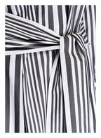 BOSS Hemdblusenkleid HEBRANA, Farbe: DUNKELGRAU/ WEISS GESTREIFT (Bild 1)