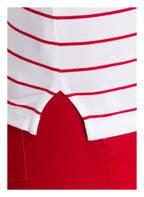 LAUREN RALPH LAUREN T-Shirt LILA , Farbe: WEISS/ ROT GESTREIFT (Bild 1)