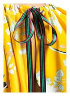 DIANE VON FURSTENBERG Seidenshirt, Farbe: DUNKELGELB/ TÜRKIS/ SCHWARZ (Bild 1)