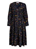 KALA Fashion Kleid, Farbe: DUNKELBLAU/ PETROL/ DUNKELGELB (Bild 1)
