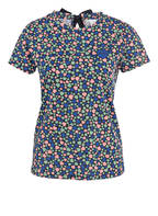BOSS T-Shirt TEBEAUTY, Farbe: DUNKELBLAU/ ROSA/ GRÜN (Bild 1)