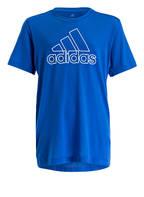 adidas T-Shirt PRIME, Farbe: BLAU (Bild 1)