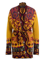 ETRO Cardigan, Farbe: DUNKELGELB/ DUNKELROT/ ROSA (Bild 1)