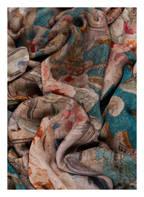 Faliero Sarti Schal AFFRESCO , Farbe: GRÜN/ BRAUN/ ROT (Bild 1)
