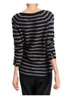 Mrs & HUGS Cashmere-Pullover, Farbe: SCHWARZ GESTREIFT (Bild 1)