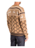 GUCCI Pullover, Farbe: CAMEL/ BRAUN/ WEISS (Bild 1)