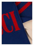 GUCCI Schal , Farbe: BLAU/ ROT  (Bild 1)