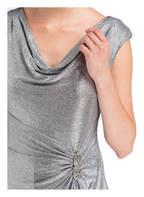 LAUREN RALPH LAUREN Abendkleid SHAWNIA, Farbe: SILBER METALLIC (Bild 1)