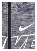Nike Sweatjacke THERMA GFX, Farbe: SCHWARZ/ GRAU MELIERT (Bild 1)