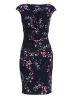 LAUREN RALPH LAUREN Kleid ADARA, Farbe: DUNKELBLAU/ LILA/ CREME (Bild 1)