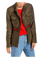 BAZAR deluxe Fieldjacket, Farbe: KHAKI (Bild 1)
