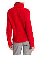 Mrs & HUGS Rollkragenpullover, Farbe: ROT (Bild 1)