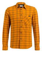 Nudie Jeans Hemd STEN Comfort Fit, Farbe: ORANGE/ GRÜN KARIERT (Bild 1)